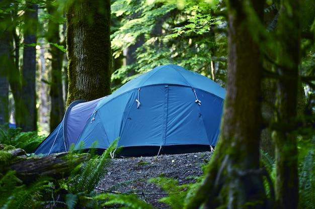 Campeggio delle tende