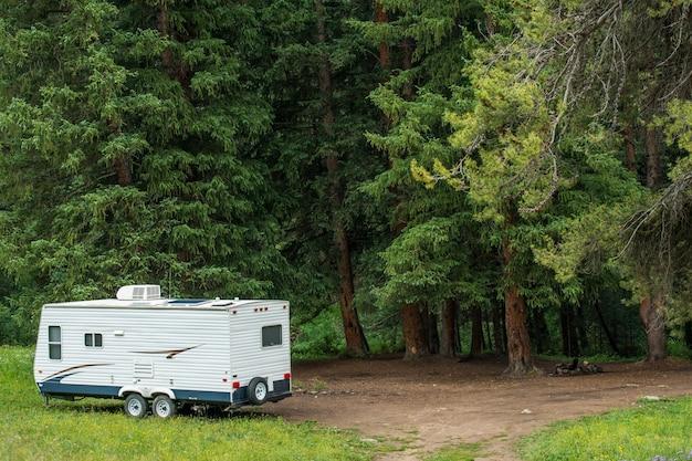 Camper boondocking