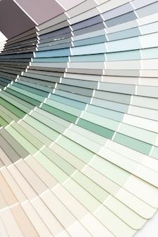 Campionario colori catalogo sfondo pantone
