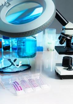 Campioni di tessuto per microscopia