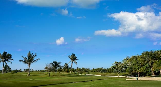 Cancun messico kukulcan blvd golf course
