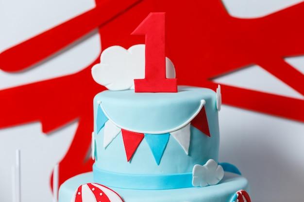 Candy bar sulla festa di compleanno del ragazzo