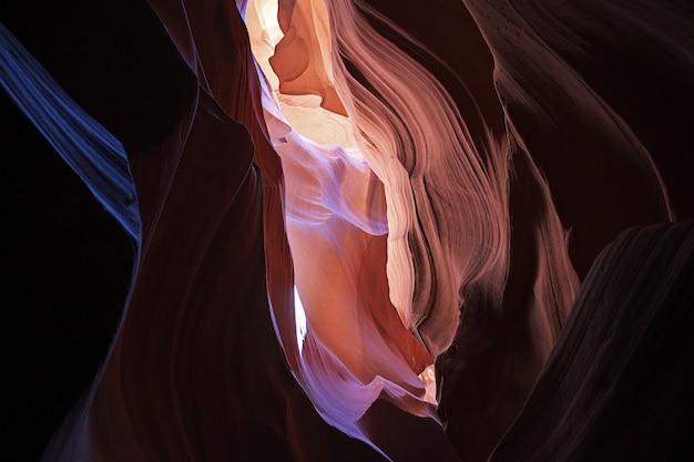 Canyon dell'antilope in arizona, usa