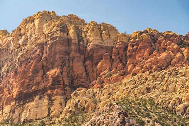 Canyon rosso della roccia las vegas nevada usa