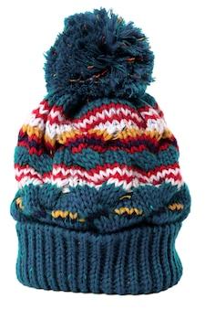 Cappello bobble isolato su uno sfondo bianco