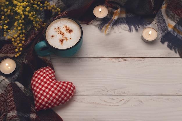 Cappuccino caldo al caffè