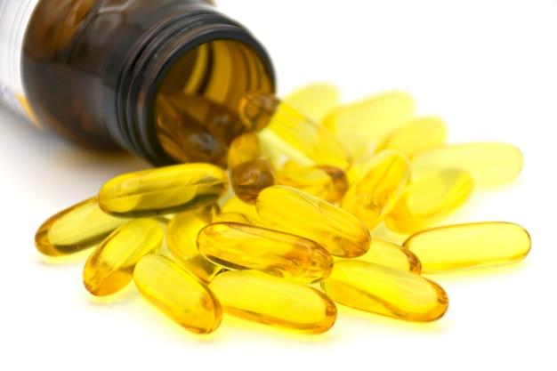 Capsula di gelatina molle utilizzata nella produzione farmaceutica per contenere farmaci oleosi.