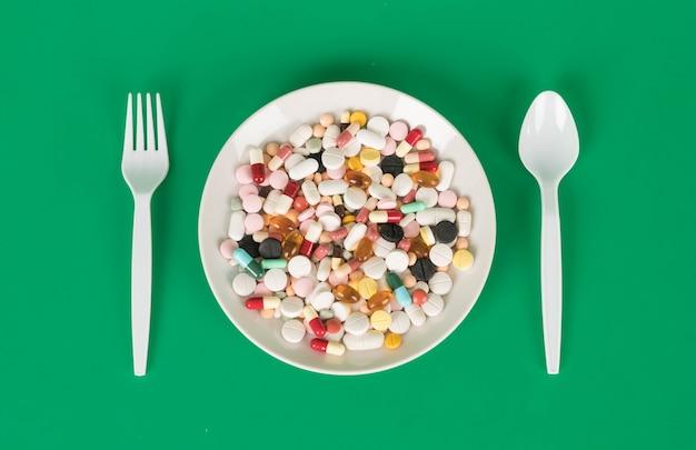 Capsule e pillole colorati