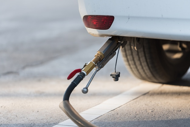 Car refuel gpl o gas di petrolio liquefatto