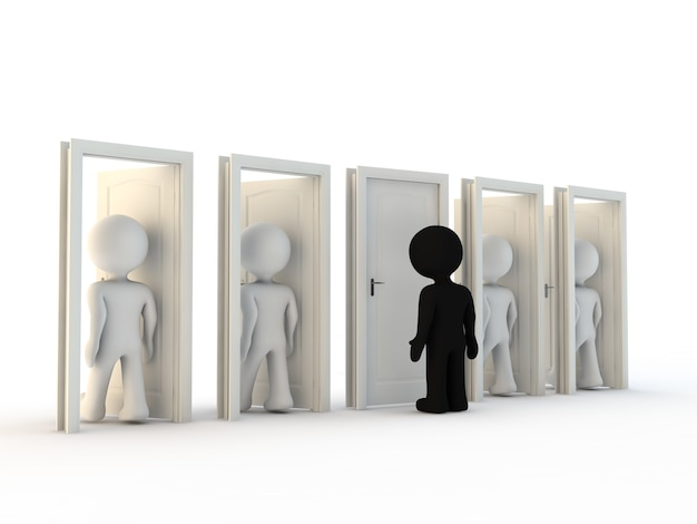 Carattere e discriminazione