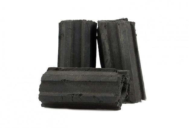 Carbone di legna naturale, polvere di carbone di bambù ha proprietà medicinali con carbone tradizionale.