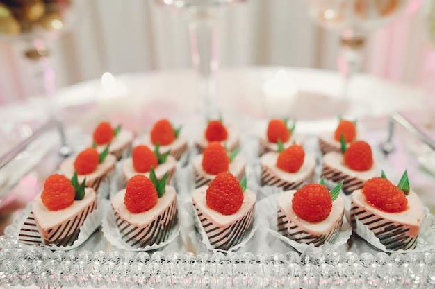 Carino buffet di nozze