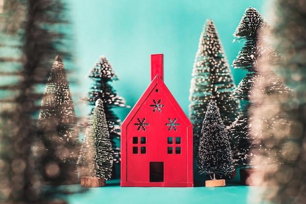 Carino sfondo casa rossa