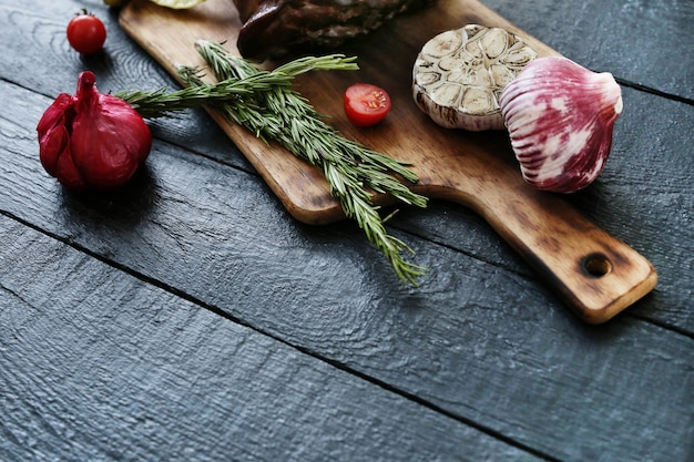 Carne arrosto con spezie