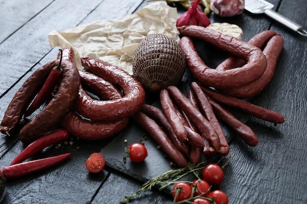 Carne deliziosa e arrostita