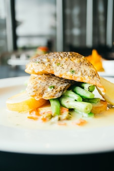Carne di pesce di bistecca