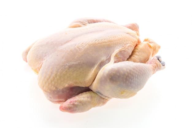 Carne di pollo crudo