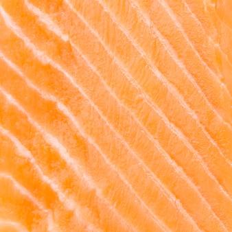 Carne di salmone crudo