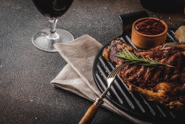 Carne fresca alla griglia