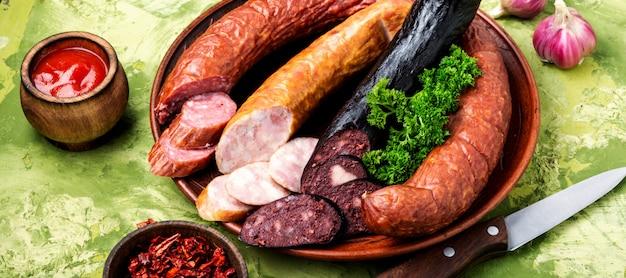 Carni affumicate e salsicce