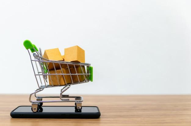 Carrello della spesa online