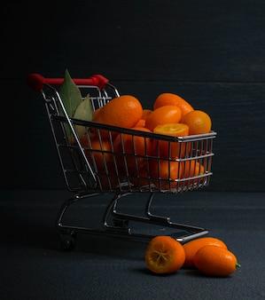 Carrello kumquat carrello scuro
