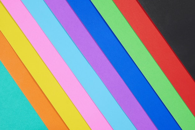 Carta a colori astratti, fondo minimo di più colori