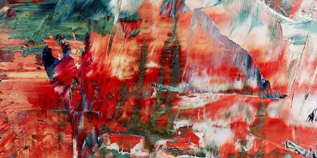Carta da parati astratta colorata. motivo moderno arte visiva. miscele di pittura ad olio. tela di pittura a mano alla moda. decorazioni murali e stampe d'arte idea. estratto di texture.colorful