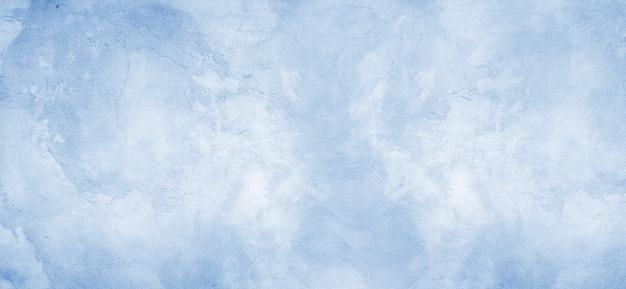 Carta da parati concreta blu di struttura del fondo