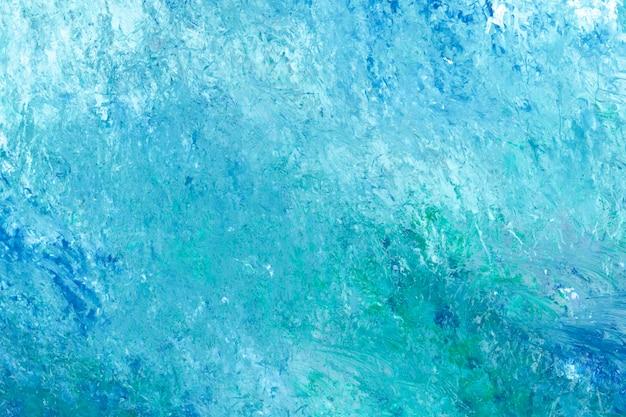 Carta da parati dipinta di teal