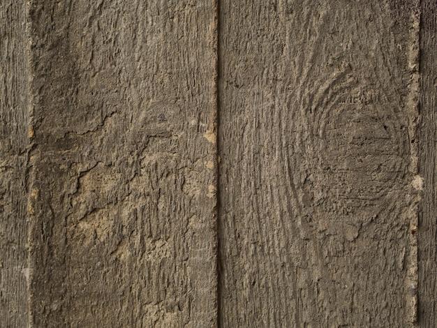 Carta da parati marrone con superficie in legno