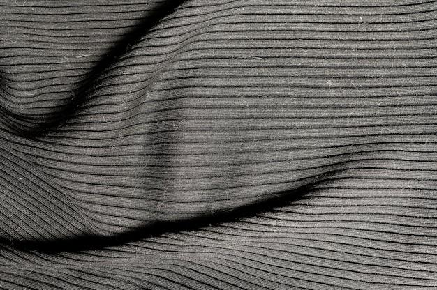 Carta da parati minimalista in tessuto grigio