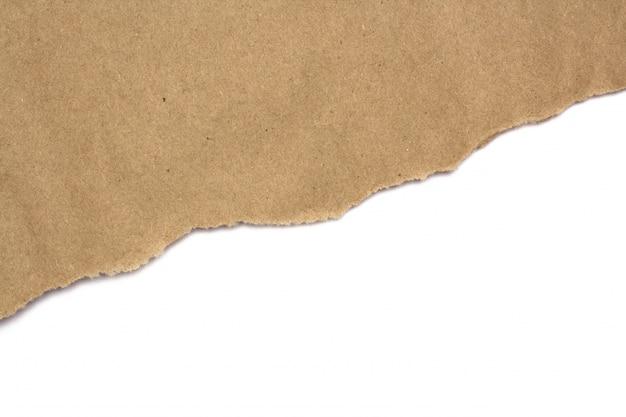 Carta del mestiere di brown su fondo bianco