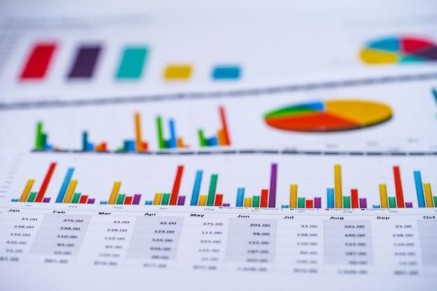 Carta millimetrata. economia finanziaria, conto, statistica, economia di ricerca analitica, affari.