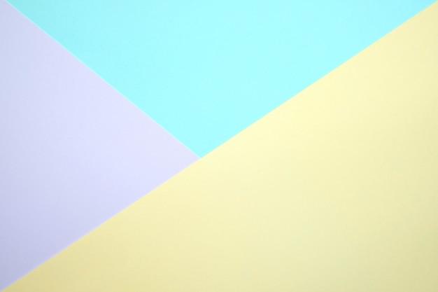 Carta piatta a colori pastello