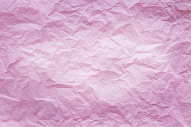 Carta riciclata rosa stropicciata