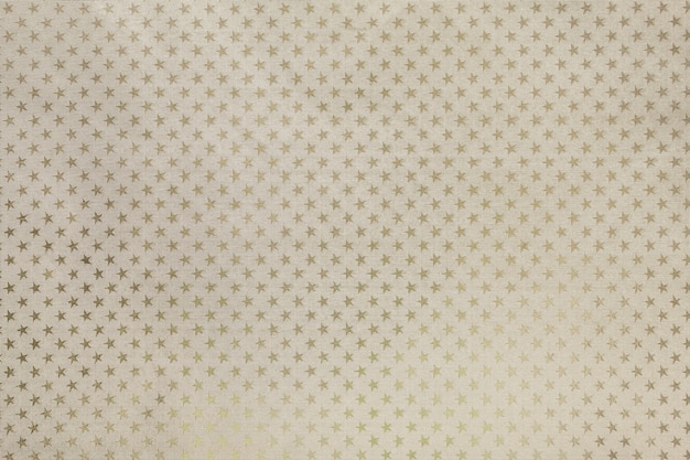 Carta stagnola di metallo beige chiaro con motivo a stelle