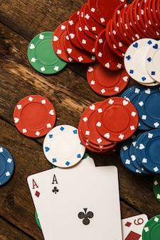 Carte da poker e fiches