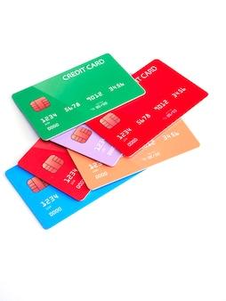 Carte di credito di diverse banche