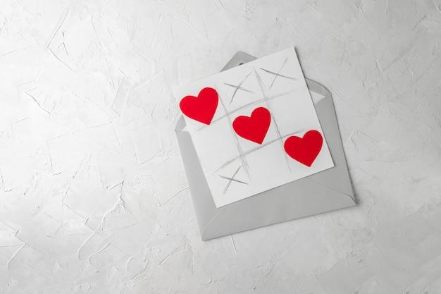 Cartolina d'auguri fatta a mano di san valentino