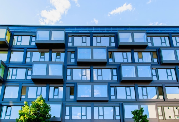 Casa a schiera moderna a berlino, germania