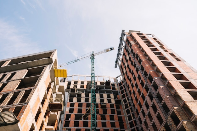 Casa residenziale in fase di costruzione