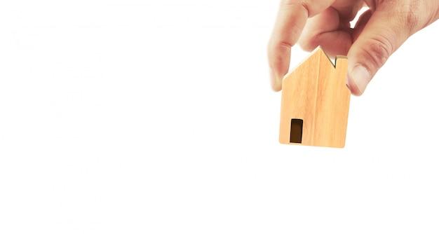 Casa struttura residenziale in mano