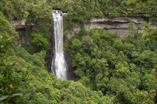 Cascata a santa catarina, in brasile