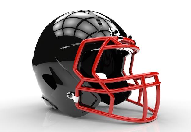 Casco da football americano nero