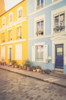 Case colorate a parigi
