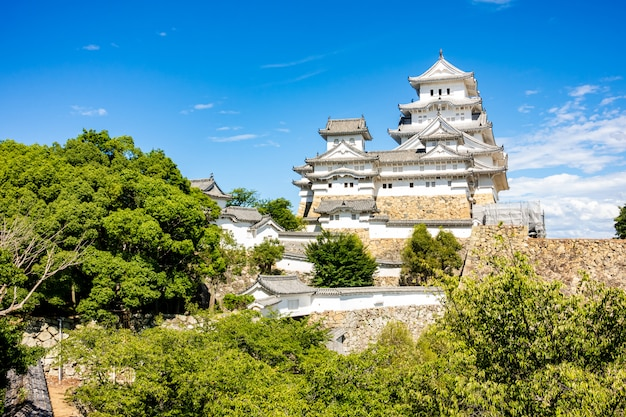 Castello di himeji hyogo in giappone