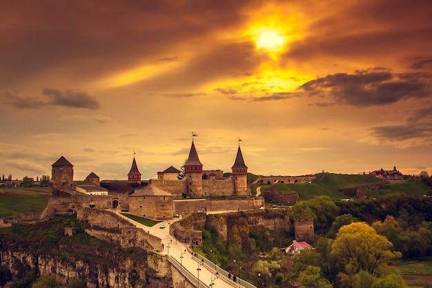 Castello di kamianets-podilskyi.