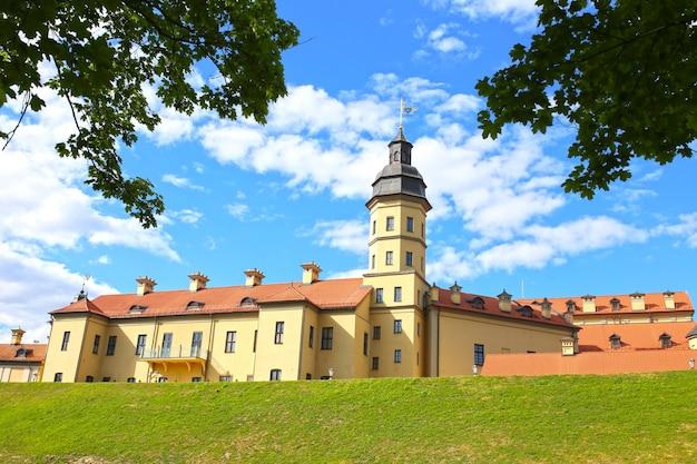 Castello di mir, bielorussia. complesso del castello di mir.