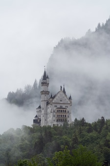 Castello di neuschwanstein in germania